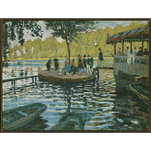 Bain à La Grenouillère - Claude Monet 5D DIY Paint By Number Kit