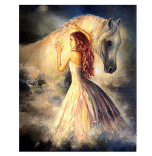 Angel Horse - DIY Painting By Numbers Kit