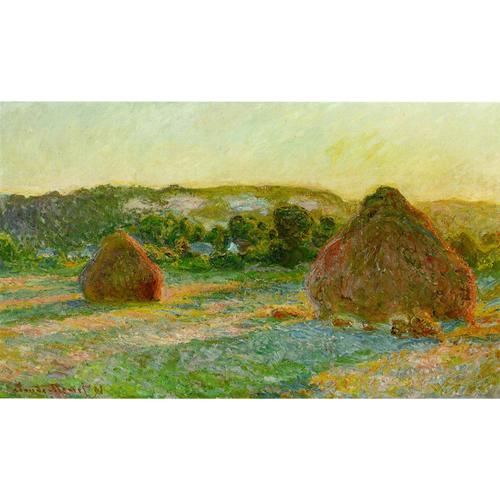 Haystacks Series - Claude Monet 5D DIY Paint By Number Kit
