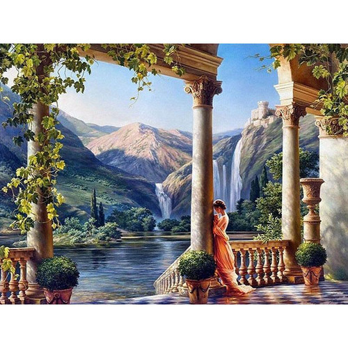 Landscape View - DIY Painting By Numbers Kit