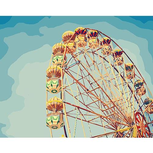 Ferris Wheel - DIY Painting By Numbers Kit