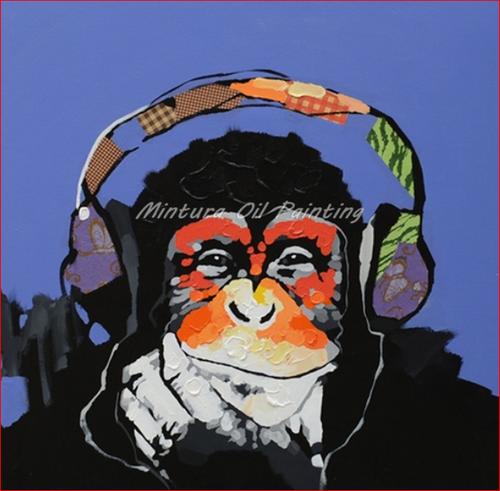 Cool Chimp - DIY Painting By Numbers Kit