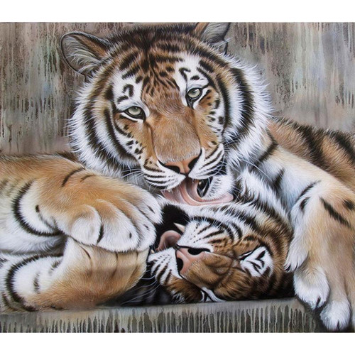 Animal Love - DIY Painting By Numbers Kit