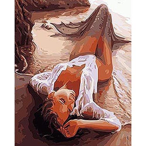 Exotic Mermaid - DIY Painting By Numbers Kit