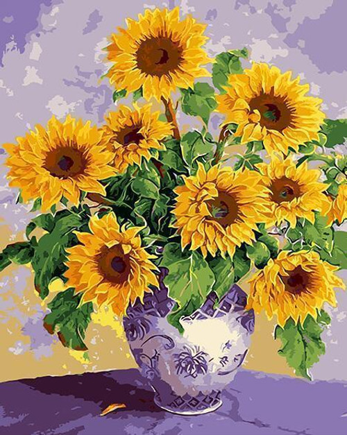 Sunflower Yellow - DIY Painting By Numbers Kit