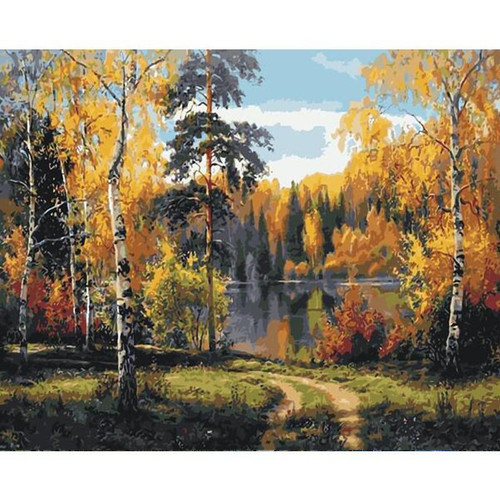 Berijam Lake - DIY Painting By Numbers Kits
