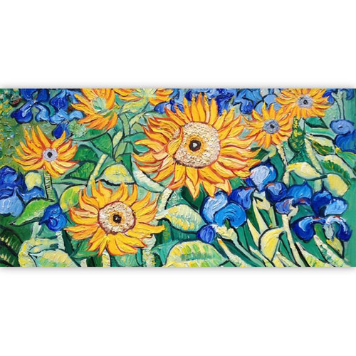 Sunflower Art - DIY Painting By Numbers Kit