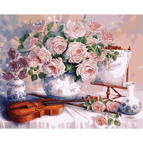 Art and Music - DIY Painting By Numbers Kit
