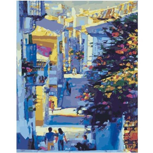 Beautiful Little Street - DIY Painting By Numbers Kits