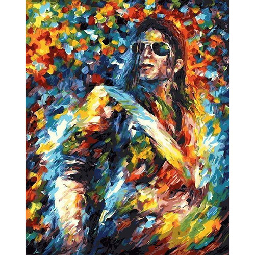 King of Pop - DIY Painting By Numbers Kit