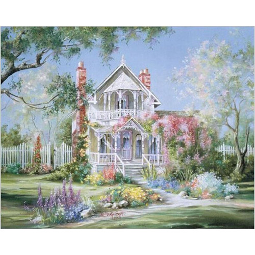 Beautiful Heavenly House - DIY Painting By Numbers Kit