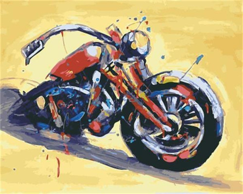 Motorcycle Colors - DIY Painting By Numbers Kit