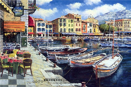 Little Italy View - DIY Painting By Numbers Kit