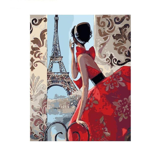 Paris, My Love - DIY Painting By Numbers Kits