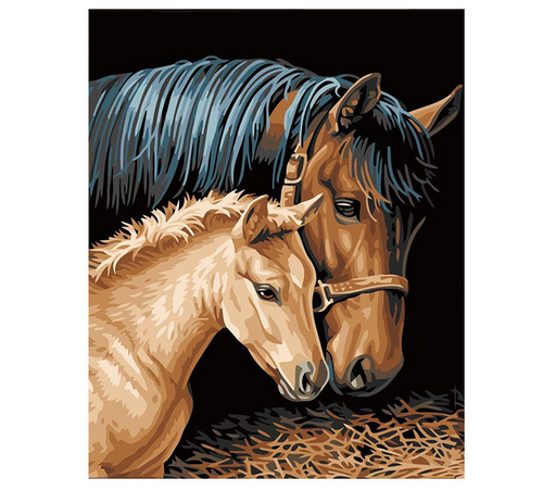 Horse & Foal - DIY Painting By Numbers Kit