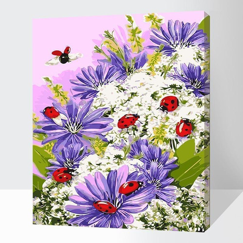 Gorgeous Spring Flowers - DIY Painting By Numbers Kits