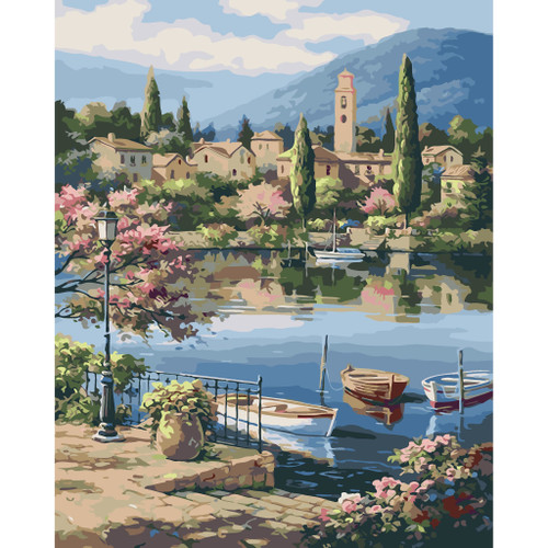 Exquisite City - DIY Painting By Numbers Kit