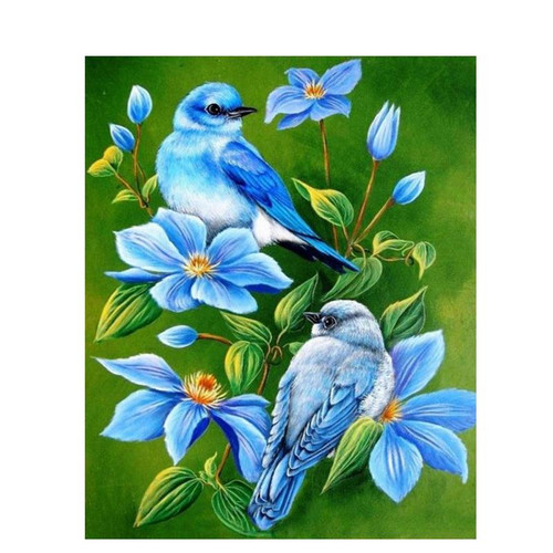 Blue Robin - DIY Painting By Numbers Kits