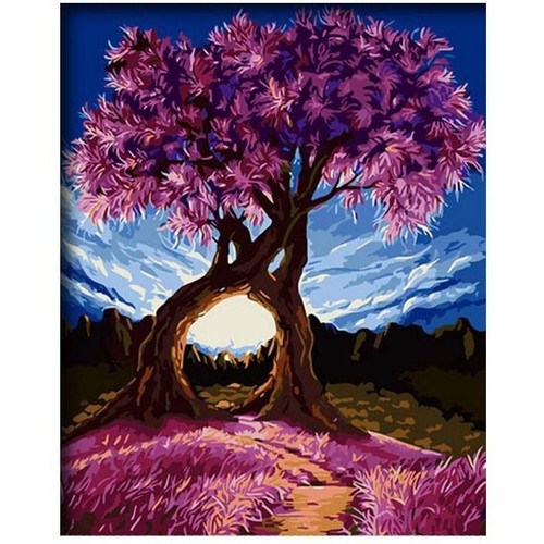 Twin Trees - DIY Painting By Numbers Kits