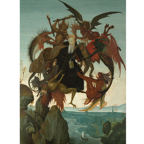 The Torment of Saint Anthony - Michelangelo 5D DIY Paint By Number Kit