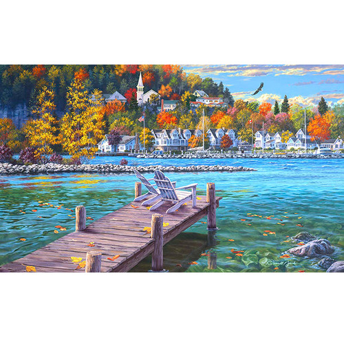 Fish Creek - DIY Paint By Number Kit