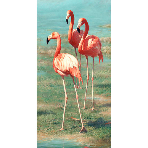 Flamingos - DIY Paint By Number Kit
