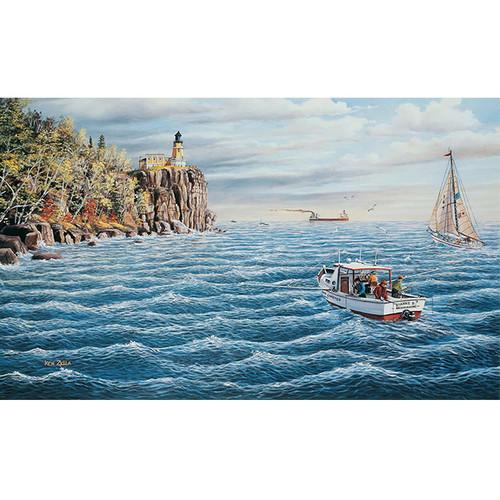 Split Rock Lighthouse - DIY Paint By Number Kit