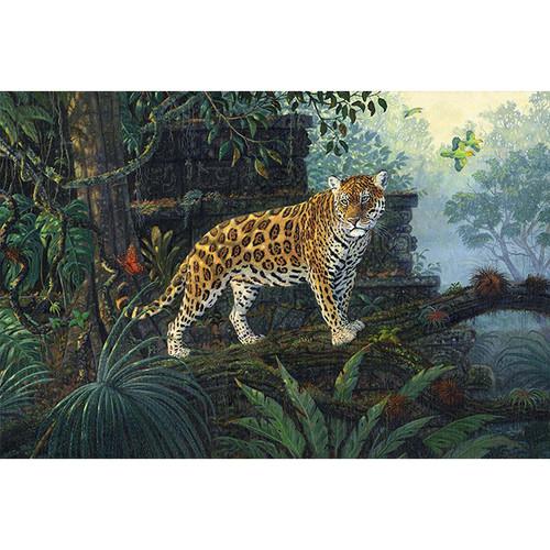The Guardian Jaguar - DIY Paint By Number Kit