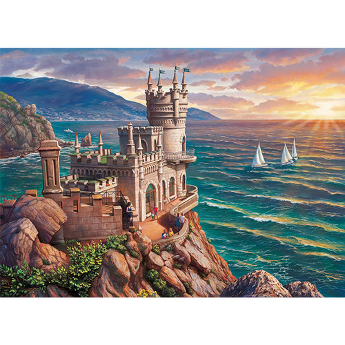Crimea the Swallow's Nest - DIY Paint By Number Kit