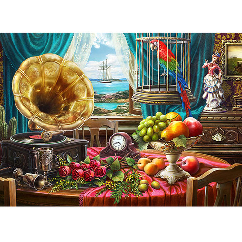 Still Life with Fruit - DIY Paint By Number Kit