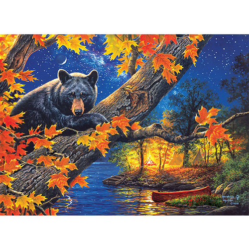 Bear Camp - DIY Painting By Numbers Kit