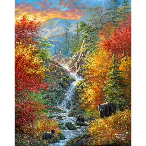 Golden Adventure - DIY Painting By Numbers Kit