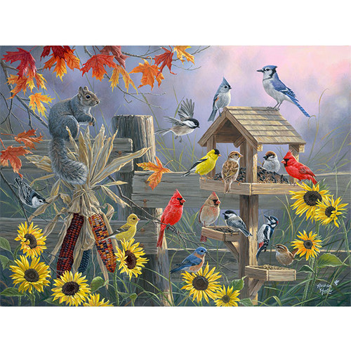 Autumn Gathering - DIY Painting By Numbers Kit