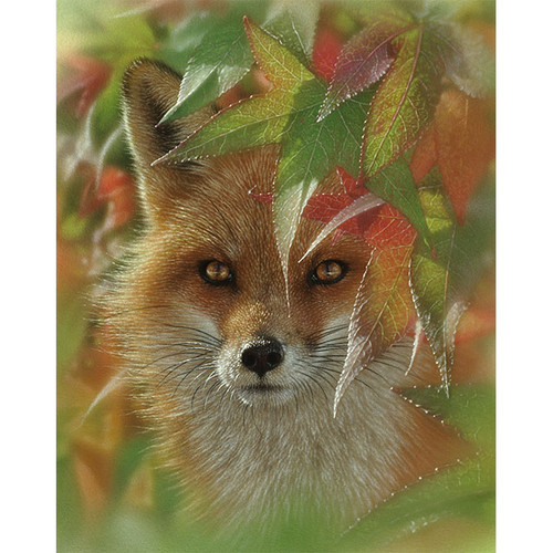Autumn Red Fox - DIY Painting By Numbers Kit