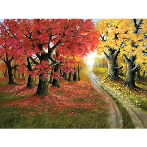 Autumn Splendor - DIY Painting By Numbers Kit