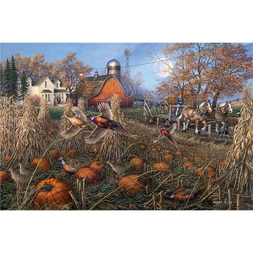 Pumpkin Patch - DIY Painting By Numbers Kit