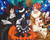 Anime Halloween Trio  - DIY Paint By Numbers Kit