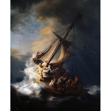 The Storm on the Sea of Galilee - Rembrandt DIY Painting By Numbers Kit