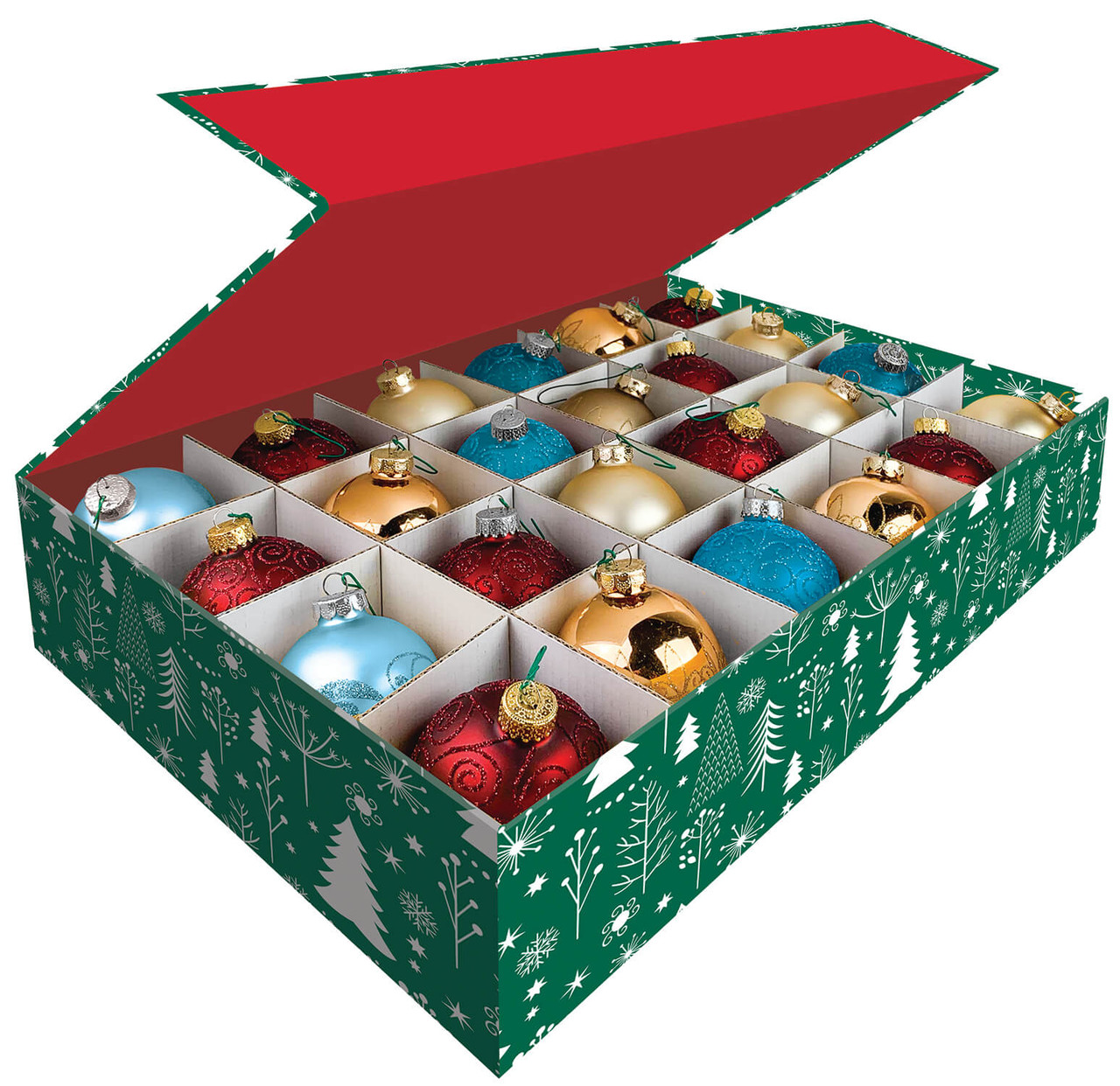 Snap N Store Magnetic Ornament Storage Box 3 Pack Sns01590