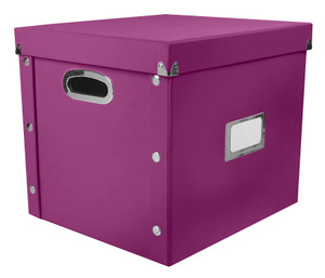 2 St/ück Schwarz SNS02080 Snap-N-Store Kassetten-Aufbewahrungsbox