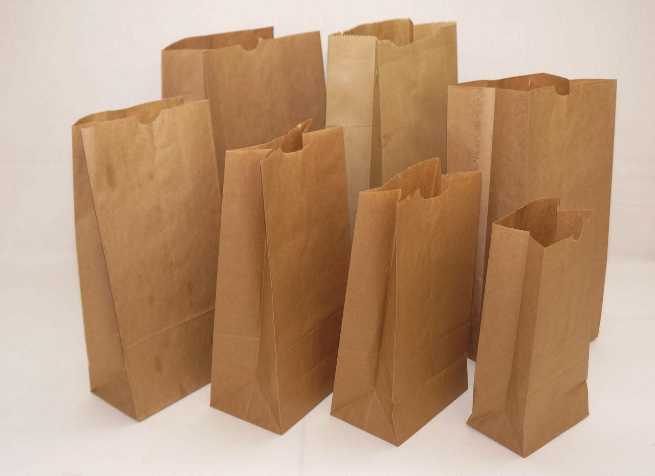 Paper Grocery Sacks