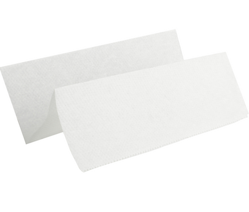 White Multifold Paper Towels, 16 Packs of 250 (4000/Case)