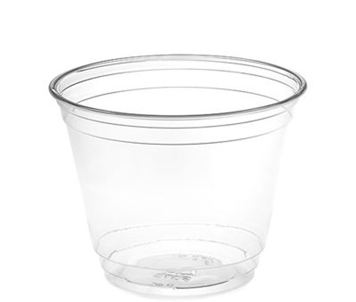 9 oz Clear PET Plastic Cups, 92mm (1000/Case) Kevidko