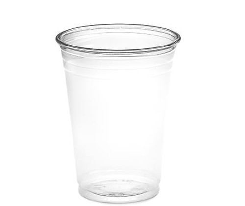 10 oz Clear PET Plastic Cups, 78mm (1000/Case)