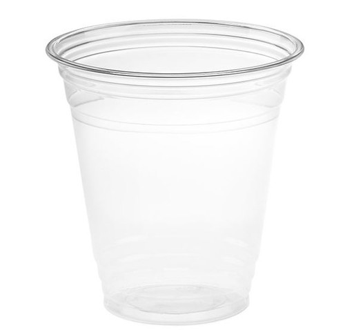 12 oz Clear PET Plastic Cups, 98mm (1000/Case)