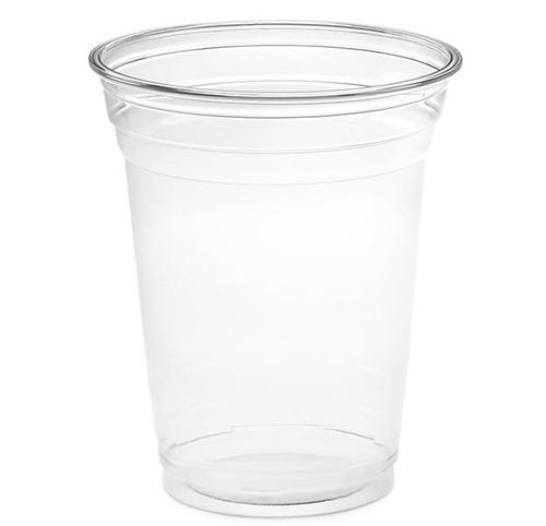 16 oz Clear PET Plastic Cups, 98mm (1000/Case)