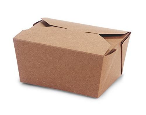 Bio Box #1 Natural Kraft (450/Case)