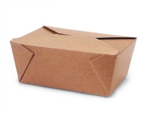 Bio Box #4 Natural Kraft (160/Case)