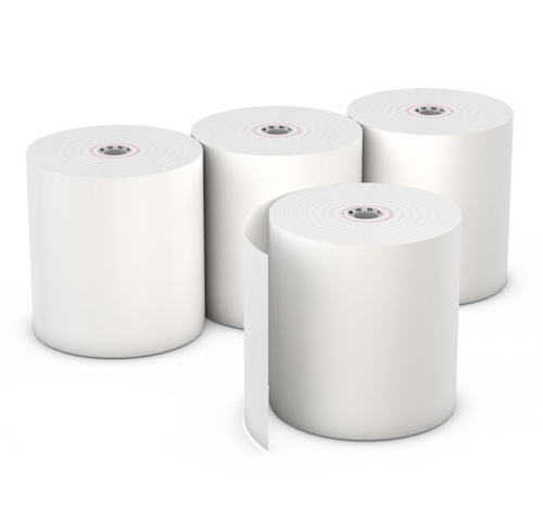 "Thermal Paper Register Rolls 3.125""x230' BPA Free (50/Case)"