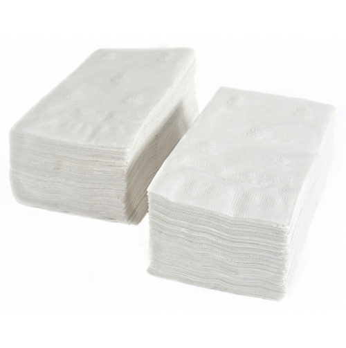 Dinner Napkins, 2 Ply White (3000/Case)